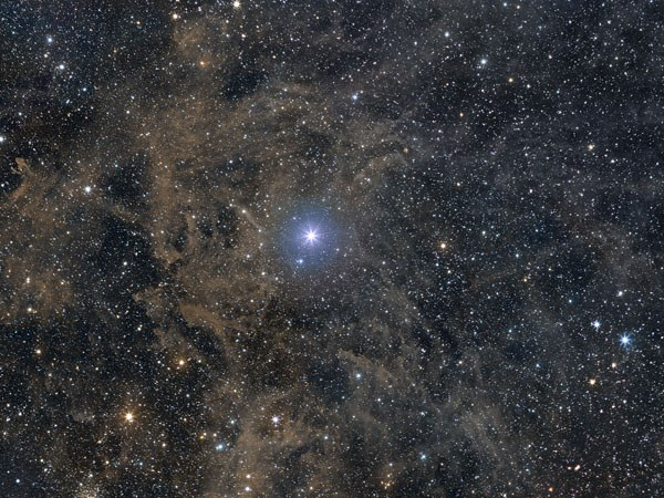 В каком созвездии находится полярная звезда