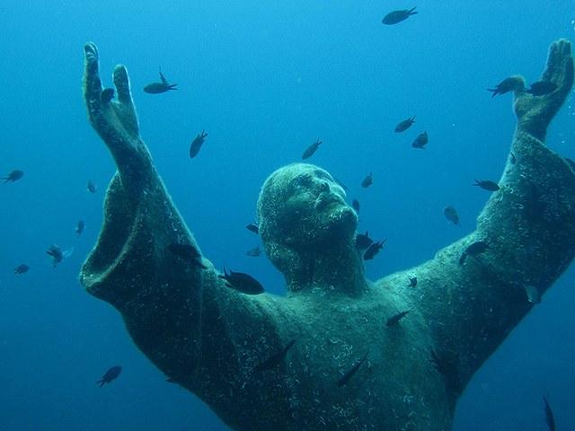 Итальянская статуя Иисуса Христа