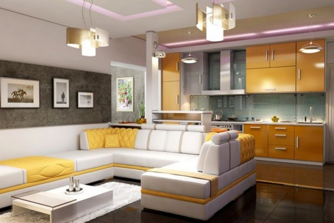 Нужна ли кухня-студия в частном доме