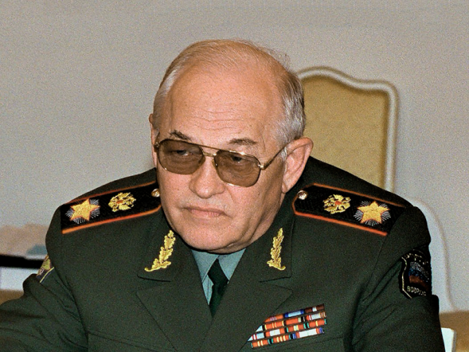 Первый и последний российский маршал Игорь Сергеев