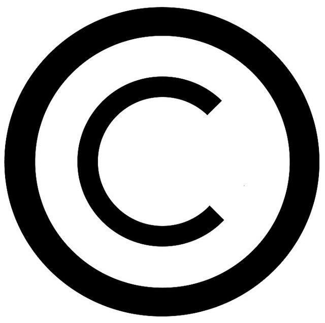 Символ копирайта, дизайнер David Wees
