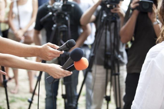 Особенности профессии журналист