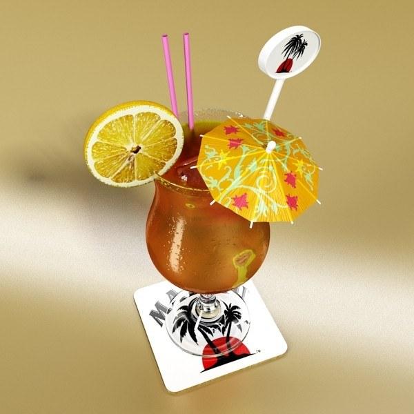 коктейли с ромом «Малибу»