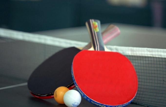 Правила настольного тенниса