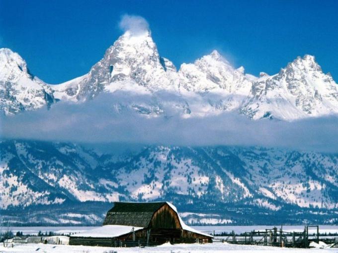 Воздух в горах разрежен
