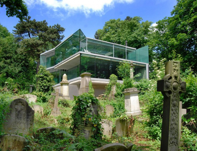 How dangerous is a house built on the site of the former cemetery
