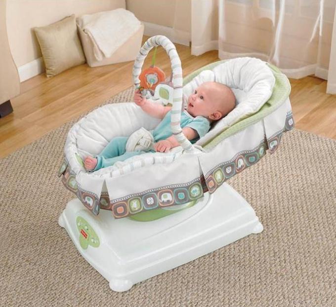 Как предпочесть качалку-люльку для новорожденного