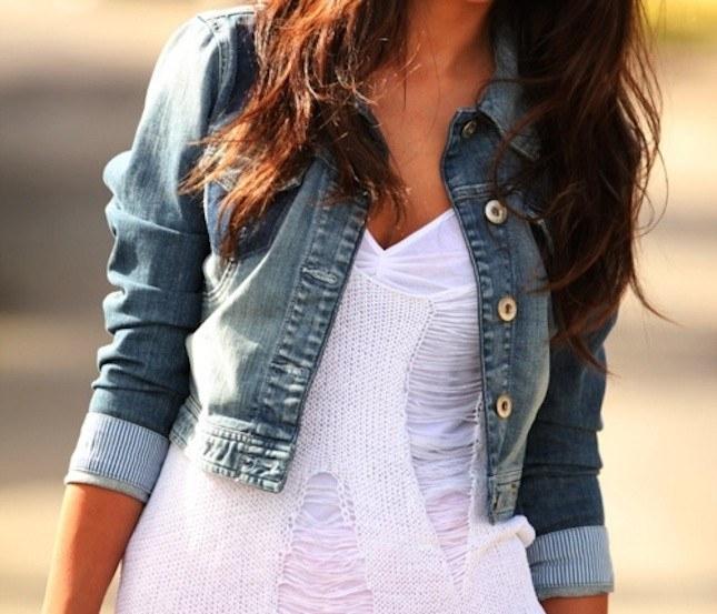Джинсовые пиджаки: куда и с чем носить