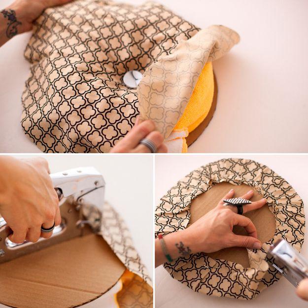 Как сделать пуфик из пластикового ведра