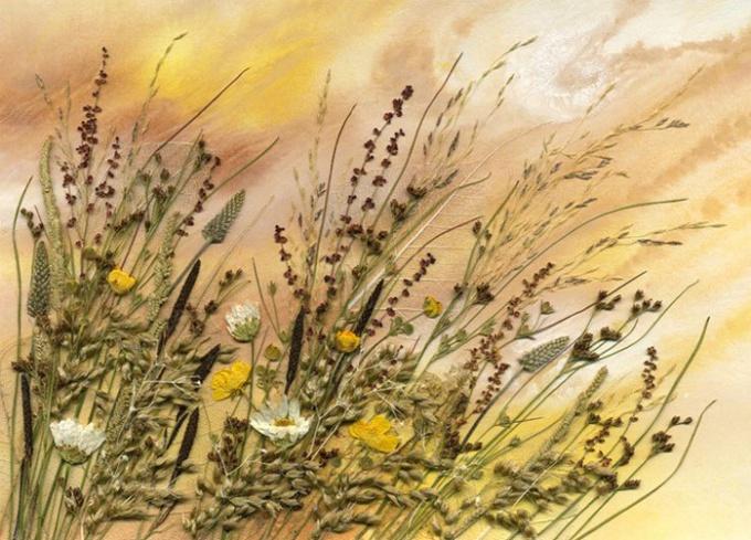Картина из природныхматериалов