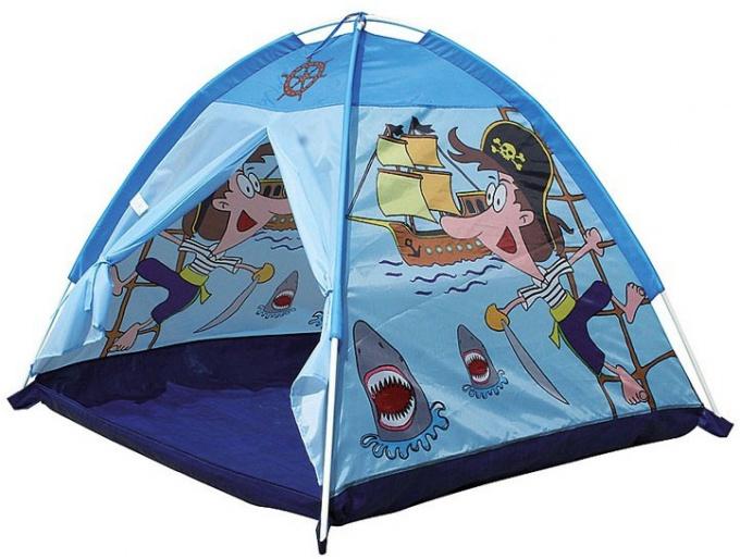 Как выбрать детскую палатку