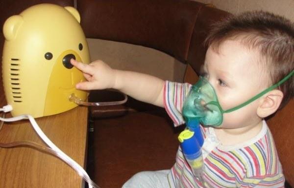 Детский ингалятор  виде игрушки