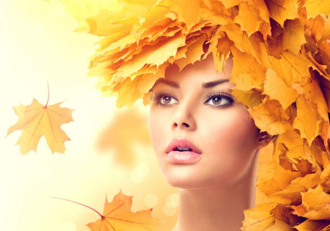 How to apply autumn makeup