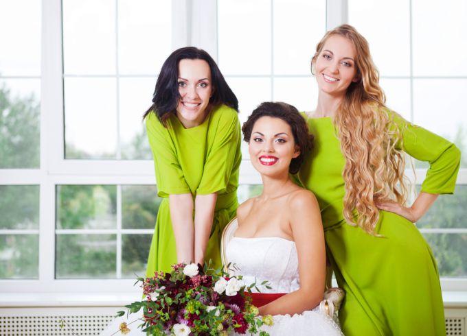 Каталог модных нарядов для подружек невесты