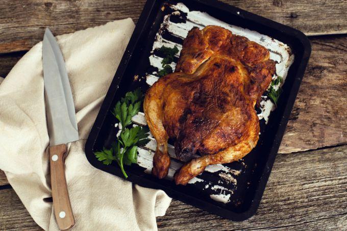Курица целиком: секреты приготовления