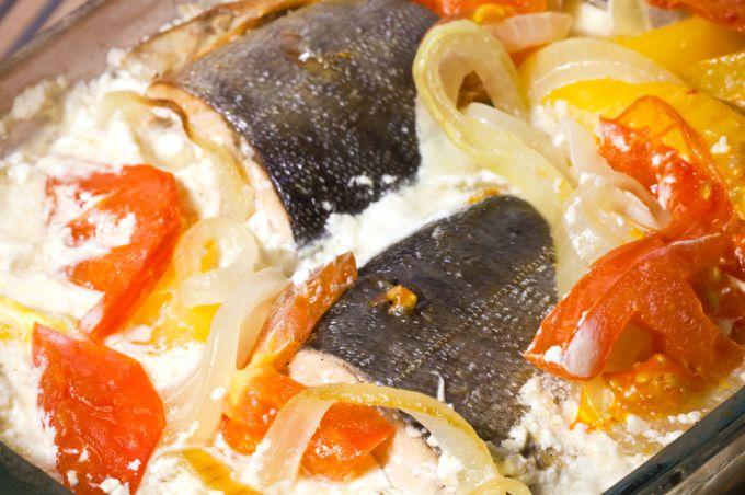 Рецепт запекания горбуши в духовке