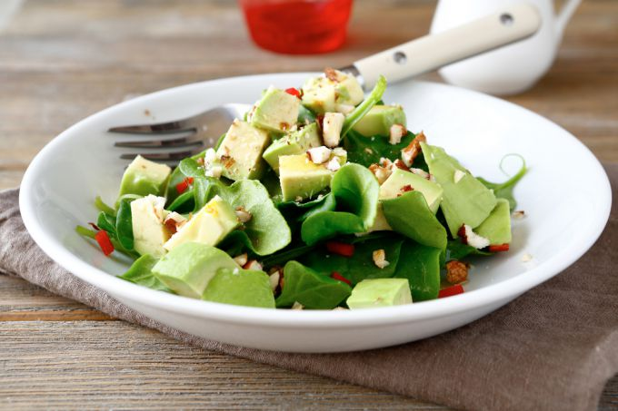Рецепты салатов с авокадо и огурцом