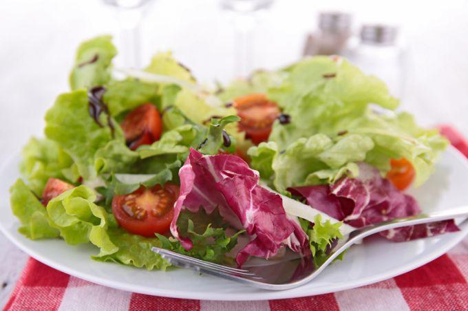 Рецепты салатов с помидорами