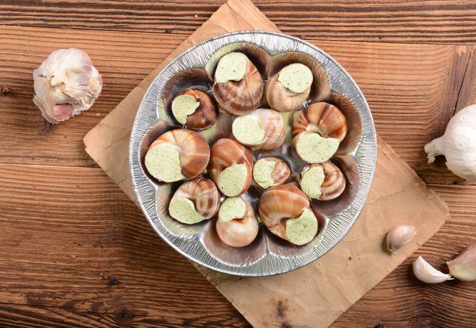 Секреты приготовления брюхоногих моллюсков