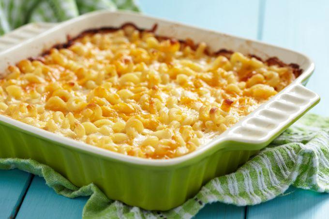 Вкусная запеканка из макарон с сыром