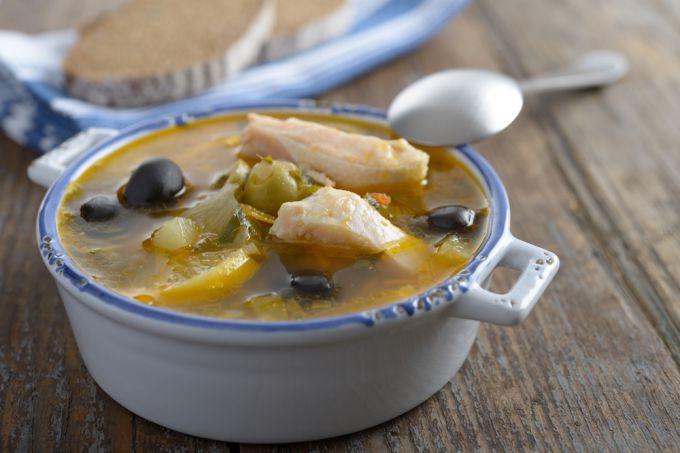 Как приготовить рыбную солянку. Рецепт с фото