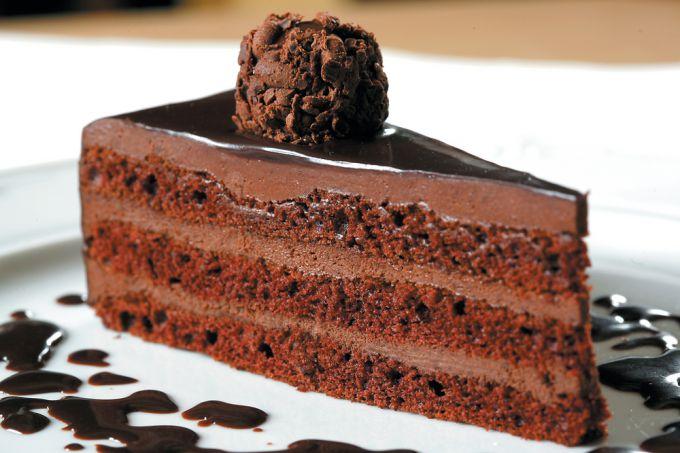Как сделать дома шоколадный трюфельный торт