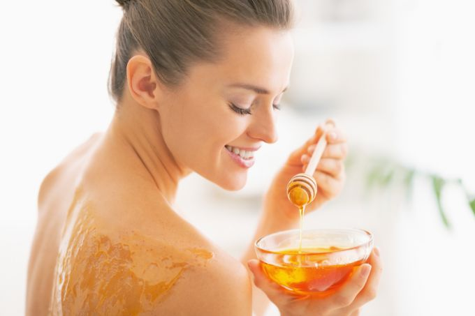 Honey massage from cellulite at home