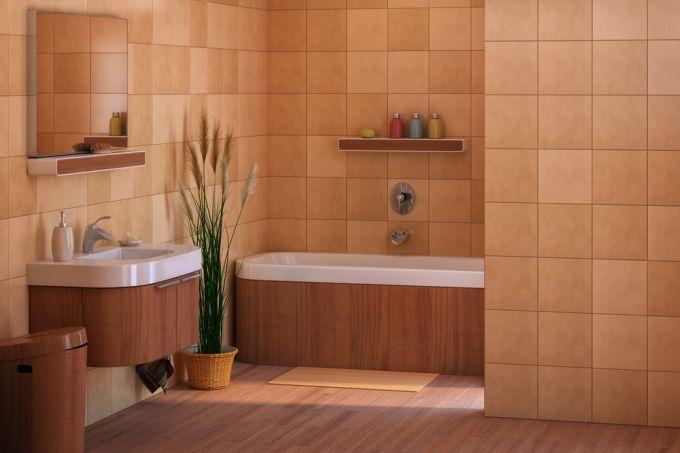 Ремонт своими руками: раскладка плитки в ванной