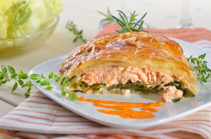 Русские старинные рецепты: рыбная кулебяка