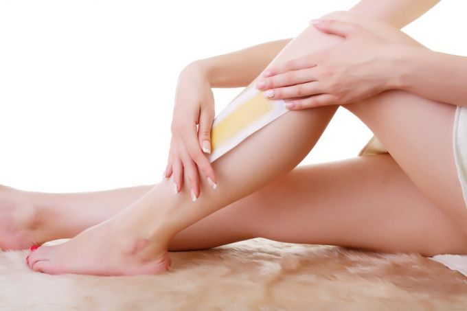 Efficacy of waxing with waxy strips of veet