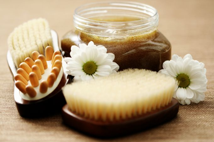 Types of body scrubs for weight loss
