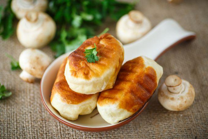 Готовим вкуснейшие пирожки с грибами