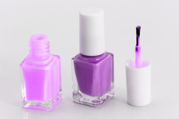 How to make nails a gradient. Photo of colorful nails