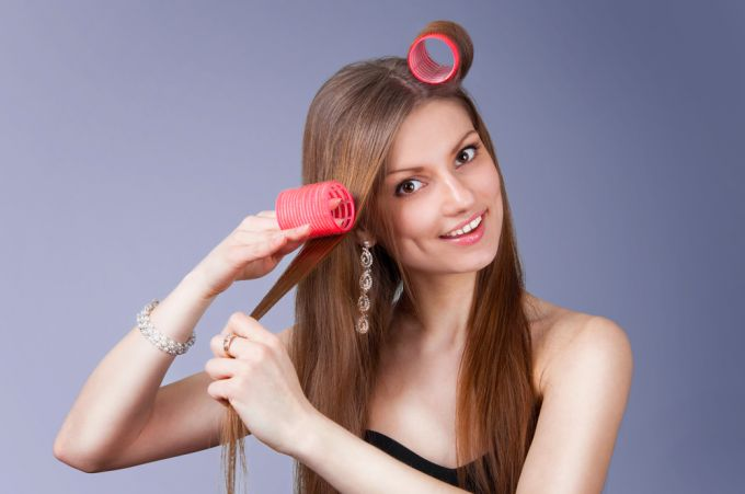How to properly twist curlers? Fast way for beautiful curls