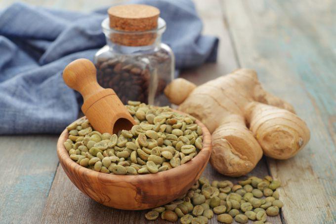 Рецепт приготовления зеленого кофе с имбирем. Видео приготовления