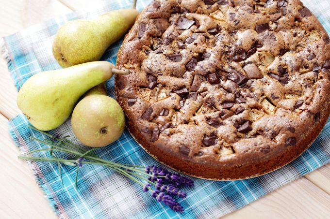 Рецепт: грушевый пирог