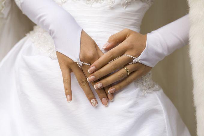 Свадебный маникюр 2014: ваши руки в центре внимания