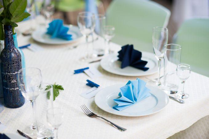 Сервировка праздничного стола. Как красиво свернуть салфетки?