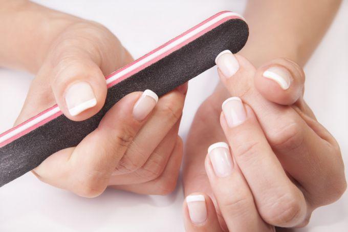 Фото квадратных ногтей. Как придать своим или нарощенным ногтям квадратную форму