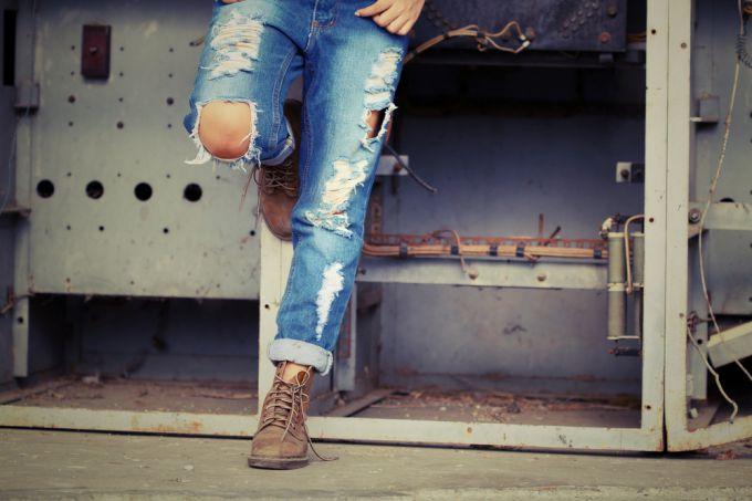 Фотоподборка 2014: учимся модно подкатывать джинсы denim