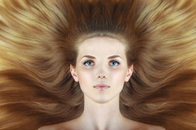 Результат выгоревших волос - окрашивание в домашних условиях
