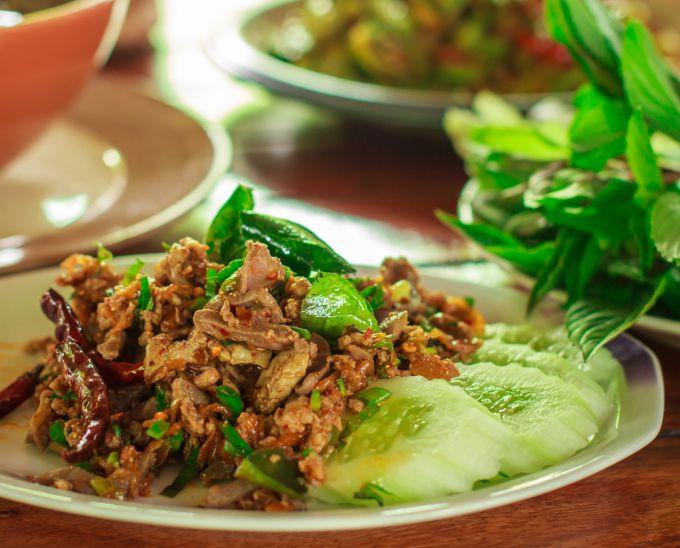 Рецепт приготовления мяса по-тайски