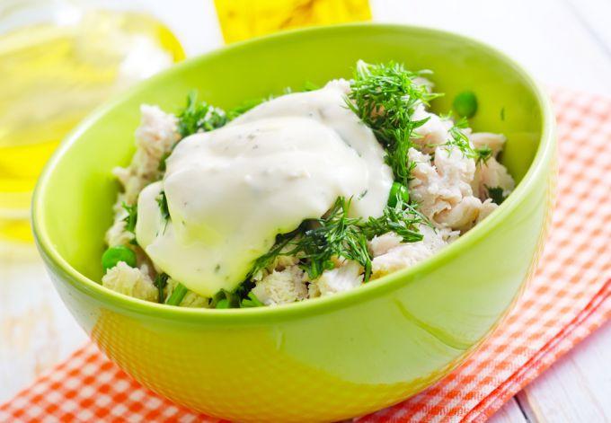"""Сытный и питательный салат """"Обжорка"""""""