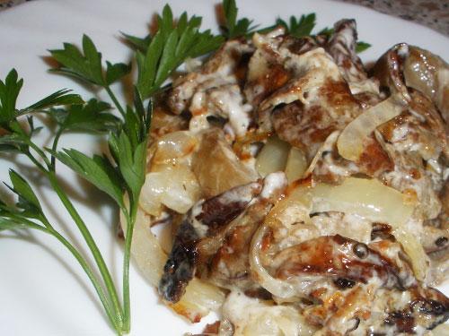Готовим баклажаны со вкусом грибов