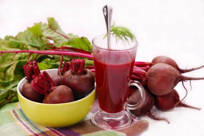 Свекольный сок для здоровья