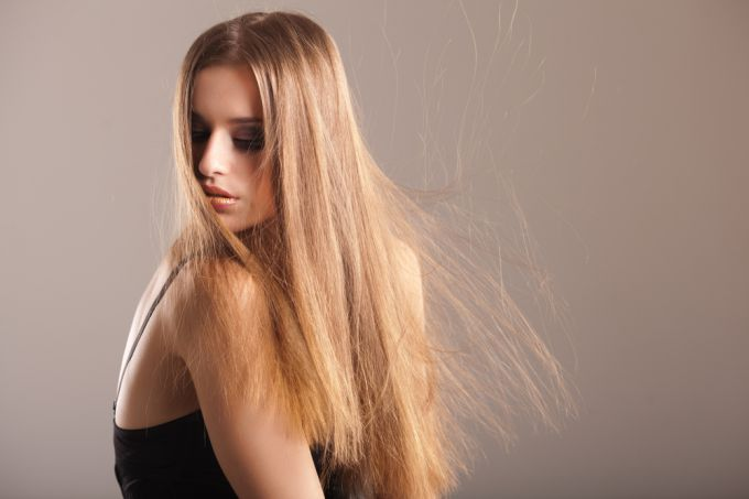 How to get rid of electrification of hair