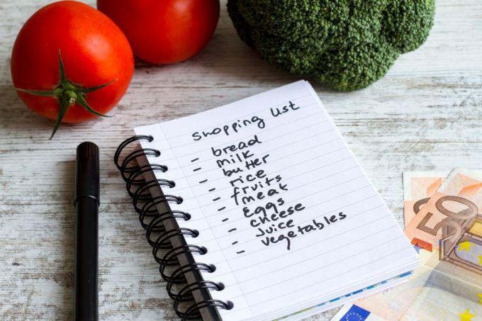 Как правильно составить перечень продуктов на неделю
