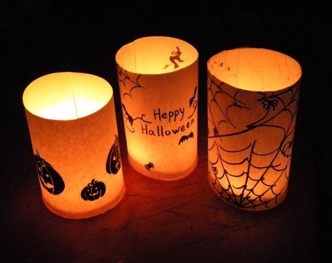 Как сделать подсвечник на Хэллоуин
