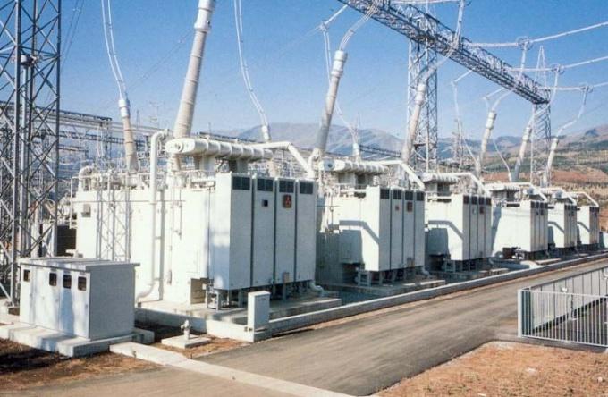 Трансформаторы на подстанции
