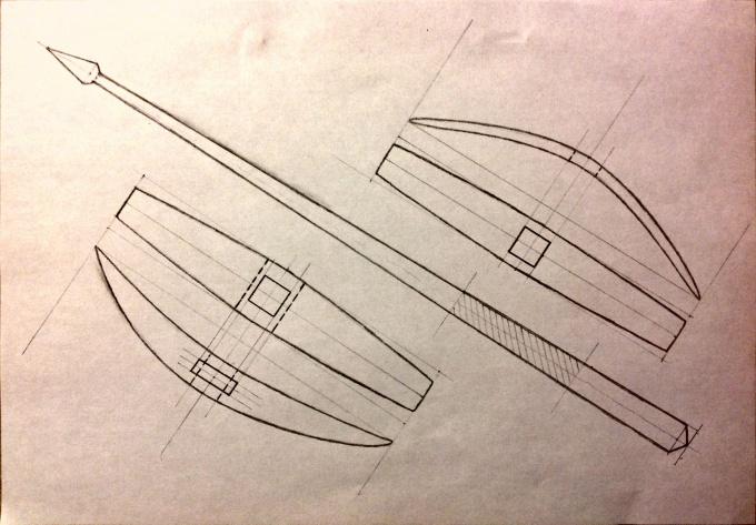 Схема турецкого веретена